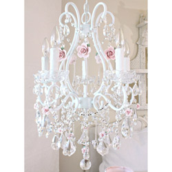 Roses 5 Light Chandelier