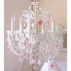 Roses 6 Light Chandelier