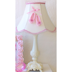 Ballerina Toe Shoes Lamp