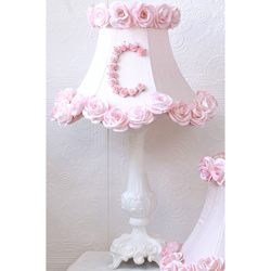 Roses Personalized Table Lamp