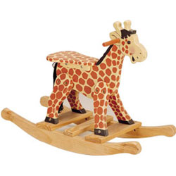 Handpainted Rocking Giraffe