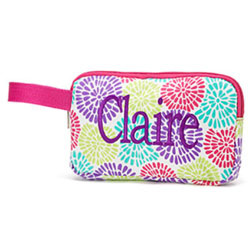 Personalized Bloom Mini Accessory Bag