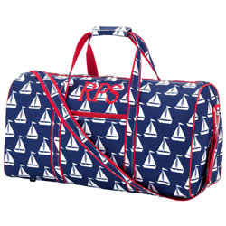 Personalized Sail Away Duffel Bag