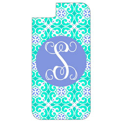 Personalized Sea Tile iPhone Case