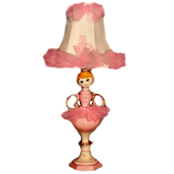 Ballerina Trophy Table Lamp