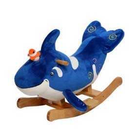 Wollie the Whale Rocker
