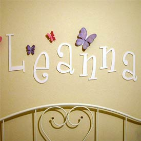 Custom Whimsical Letters