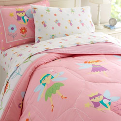 Fairy Princess Twin Bedding Set