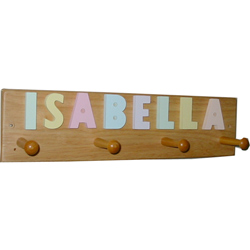 Name Clothes Hanger