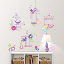 Chirping the Day Away Wall Decal