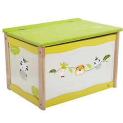 Eco-Friendly Safari Toy Box