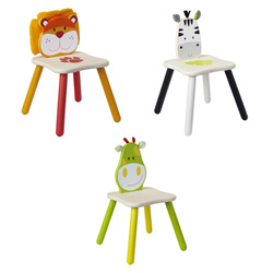 Eco-Friendly Safari Animal Chairs