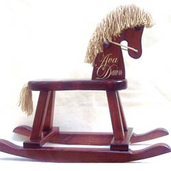 Personalized Heirloom Rocking Horse