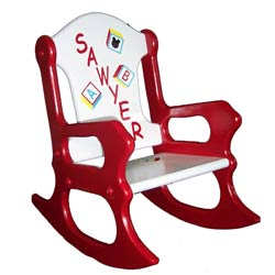 Learning is Fun Rocking Chair