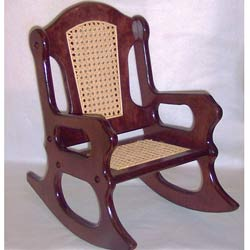 Vintage Toddler Rocking Chair