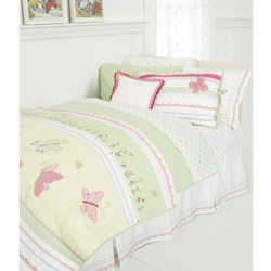 Butterfly Party Twin Bedding Collection