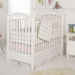 Tufted Crib Bedding Set