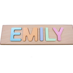 Child's Personalized Name Puzzle