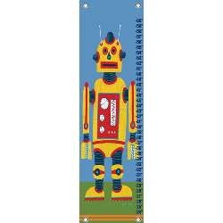 Yellow Robot Growth Chart