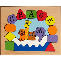 Personalized Noah's Ark Puzzle