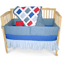 Primary Colored Five Piece Crib Set, Boy Crib Bedding | Baby Crib Bedding For Boys | ABaby.com