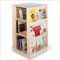 4 Sided Library, Baby Bookshelf | Kids Book Shelves | ABaby.com