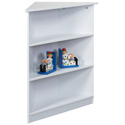 Three Tier Corner Bookcase, Baby Bookshelf | Kids Book Shelves | ABaby.com