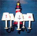 Lighthouse Chandelier, Nautical Themed Nursery | Nautical Bedding | ABaby.com