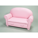 Children's Upholstered Chaise Lounge Chair