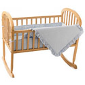 Deluxe Waffle Cradle Bedding, Cradle Accessories | Bedding For Cradles | ABaby.Com