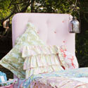 Alexis Twin Headboard, Childrens Beds | Girls Twin Bed | ABaby.com