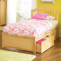 Windsor Platform Twin Bed, Childrens Twin Beds | Full Beds | ABaby.com