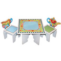 Mary Englebreit Tea Time Table and Chair Set, Children Table And Chair Sets | Toddler Table And Chairs | ABaby.com