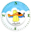 Airplane Name Plate, Baby Birth Plates | ABaby.com