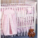 Pink Anastasia Crib Bedding, Baby Girl Crib Bedding | Girl Crib Bedding Sets | ABaby.com