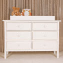 Manhattan Double Dresser/Changer, Dresser And Changing Table Combo | Nursery Dressers | ABaby.com