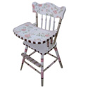 Rose Garden High Chair, Baby High Chairs | Designer High Chairs | ABaby.com