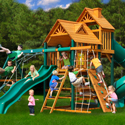 Big Skye I Swing Set, Outdoor Toys | Kids Outdoor Play Sets | ABaby.com