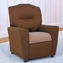Bison with Latte Kids Recliner, Buy Kids & Toddler Chairs Online | Recliner | Rocking Chairs | Armchairs