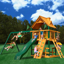 Blue Ridge Chateau Swing Set, Outdoor Toys | Kids Outdoor Play Sets | ABaby.com