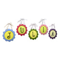 Custom Round Scalloped Framed Letters, Kids Wall Letters | Custom Wall Letters | Wall Letters For Nursery