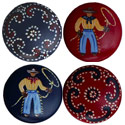 Happy Trails Knobs, Wild West, Western, Cowboy Themed Furniture, Decor For Childrens Rooms and Baby's Nursery.