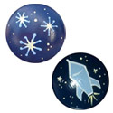 Outer Space Knob (Pack of 6), Airplane Themed Nursery | Airplane Bedding | ABaby.com