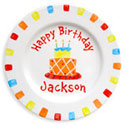 Birthday Cake Name Plate, Baby Birth Plates | ABaby.com