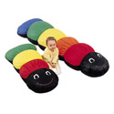 Caterpillar Floor Pillow, Kids Bean Bag Chairs | Kids Chairs | ABaby.com