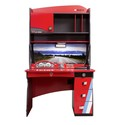 Champion Racer Smart Desk with Hutch