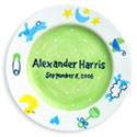 Charm Birth Plate, Bunnies Themed Nursery | Bunnies And Bears Bedding | ABaby.com