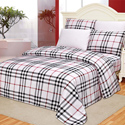 Checkered Printed Sheet Set, Little Girls Twin Bedding Sets | Twin Bedding Collection | aBaby.com