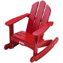 Childs Adirondack Rocking Chair