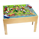 City Transportation Table, Train And Cars Themed Furniture | Baby Furniture | ABaby.com